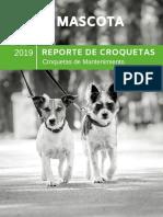 Reporte de Croquetas de Mantenimiento 2019