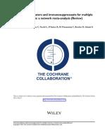 Revision Sistemtica de Inmunomoduladores e Inmunosupresores