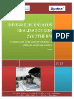 Informe Final de Ensayos Realizados en El Laboratorio de Herdoiza Crespo