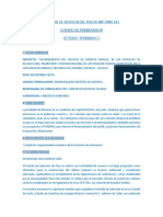 Informe de Revision de Tercer Informe