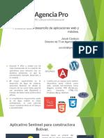 Portafolio Sobre Desarrollo de Aplicaciones Web y Móviles