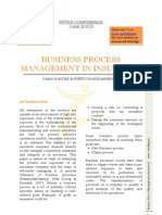 Business Process Management in Insurance_APRIA 2003_Rama Warrier & Preeti