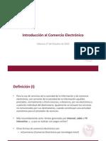01 Introducción al Comercio Electrónico