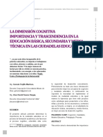 Dialnet-LaDimensionCognitivaImportanciaYTrascendenciaEnLaE-6132724