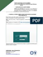 Manual Zimbra Pc URL-escritorio