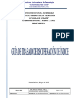 Guía Recuperación Indice Académico