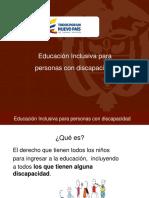 2. Ruta de Inclusión Educativa
