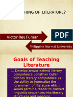 teaching-of-literature-sir-fumar.ppsx