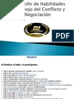Habilidades de Conflicto y Negociación Caseem