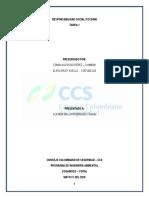 Tarea 1 - Responsabilidad Social ISO 26000