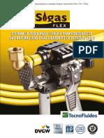 Sistema de Tubulação Multicamada Para Instalação de Gases Combustíveis PExb X AL X PExb.