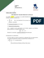 1PP - Aplicación EDO de Primer Orden