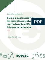 Guía Ecolec Declaraciones Aee Rii-raee 20180725