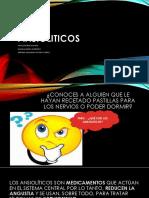 Ansioliticos- Exposicion Completa de Farmaco