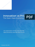 Innovation and privacy