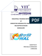 HAL Internship Report