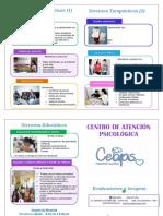 Diptico Para Padres Control Conductual