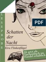 Leseprobe Kira Flinkenflügel - Schatten der Nacht