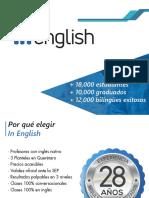 In English  Atrévete a ser bilingüe