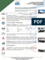 Contrato de Fabricación de Carroceria Para Vehiculo