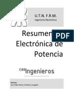 resumen de electronica de potencia