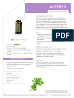 Doterra Cilantro Essential Oil