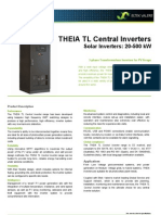 Datasheet THEIA TL Central v6