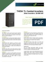 Datasheet THEIA TL Central v6