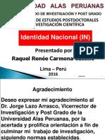 Peru Identidad Nacional