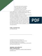 Proyecto de lineamientos de la Política Económica y Social