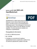 Tutorial Openmediavault