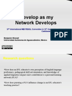 I Develop as My Network Develops Nov 6 2010