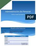 MODULO 1 - Administración de Personal - 2019