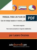 Manual para un plan de negocio