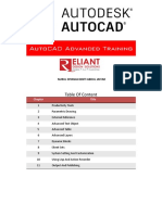 AutoCAD Advanced June 19