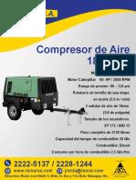 Rendimiento Compresor de Aire
