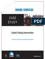 Coiled Tubing Case Study
