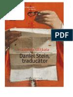 Ludmila Ulitkaia - Daniel Stein, Traducator