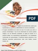 Produccion Del Yoghurt Modificado
