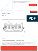 Air Inlet Heater 3126B