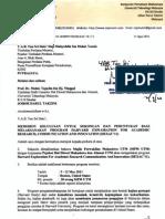 Surat Mohon Peruntukan HEXAC '11