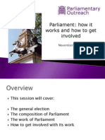 Parliament- How It Works and How to Get Involved