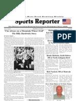 November 10, 2010 Sports Reporter