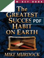 greatest Success Habit