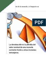 La devaluación de la moneda y el impacto en la economía.docx