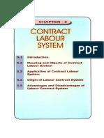 Contract labour management