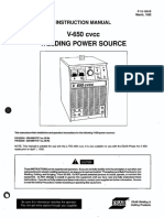 Welding System Manual 650