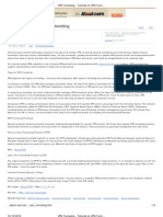VPN Tunneling - Tutorial on VPN Tunnels