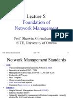 Foundation of network management
