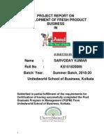 Amul Project Report